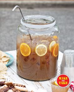 Spicy Gingerale punch Tailgating12 : Features : Food : Taste of the South Magazine