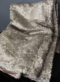 Luxury Sequin and Velvet Bedspread Throw by Rockett St. George