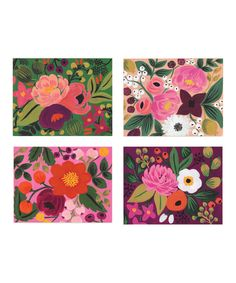 Rifle Paper Co. Vintage Blossoms Card Set