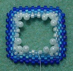 How to figure out how many beads to use for different shapes of bezels.  #Seed #Bead #Tutorials