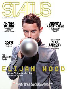 Status magazine - Elijah Wood