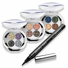 New True Dimensions eye shadow palettes! marykay.com/kmarek123