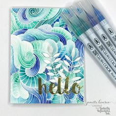 Butterfly Reflections, Ink.: You Had Me at Hello