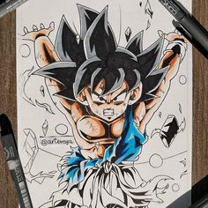 Cool Cartoon Drawings, Naruto Drawings, Marvel Drawings, Manga Art, Anime Art, Ozzy Tattoo, Arte Do Kawaii, Street Tattoo, Warcraft Art