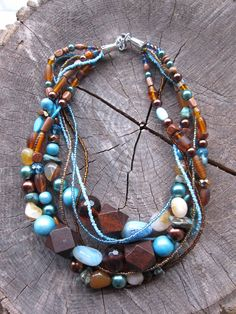 """'Natural Mom' - """"The Strength of Motherhood is Greater than Natural Laws"""" The Mom Necklace. Check out more color options! $35"""