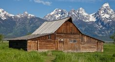 https://flic.kr/p/8rbzmg | Mormon Barn, Antelope Flats Road, Jackson Hole, Wyoming