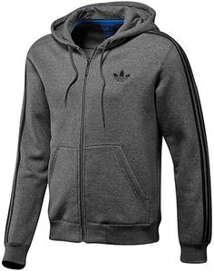 ShopStyle: adidasHooded Flock Track Top
