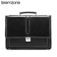 cf6c0d272c Genuine Leather Vintage Formal Business Lawyer Briefcase Messenger Shoulder  Attache Portfolio Tote Mens Clothing Trends