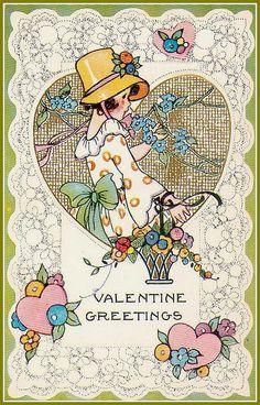 vintage everyday: Funny Vintage Valentine's Day Cards for Your Inspiration