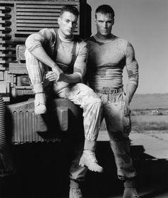 Still de Dolph Lundgren y Jean Claude Van Damme In Universal Soldier Large imagen Universal Soldier