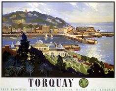 ~ Art | Travel Posters | Torquay, UK
