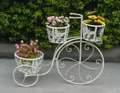 2012 New Bicycle Flower Pot Stand and Wedding Home Garden Decoration