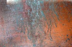 Inexpensive Faux Copper and Patina Metal | Pretty Handy Girl