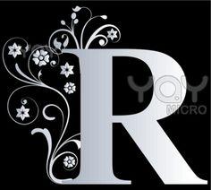Letter R for Rose, my sister.