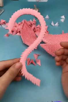 Discover more about Origami Paper Craft – BuzzTMZ Origami Guide, Instruções Origami, Origami Simple, Origami Videos, Origami Ball, Paper Crafts Origami, Paper Crafting, Origami Tattoo, Origami Dragon