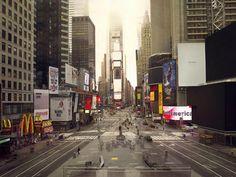 Time Square time lapse