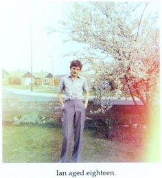 Ian Curtis (Joy Division), aged 18