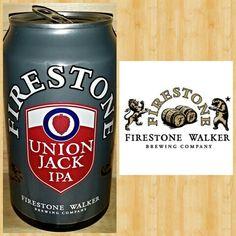 UNION JACK IPA ● Firestone Walker Brewing ● Paso Robles, CA ● (707) (A) ● nice well bala