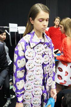 Cat Dresses, Catwalk, Print Patterns, Bubbles, Runway, Ruffle Blouse, Graphic Sweatshirt, Kawaii, Sweatshirts