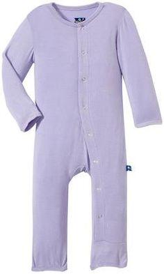 KicKee Pants Coverall (Baby) - Lilac - Free Shipping