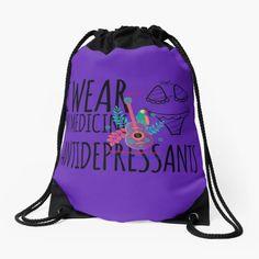 Shop von Herogoal | Redbubble Namaste, Blue Hawaii, Drawstring Backpack, Backpacks, Yellow, How To Wear, Bags, Shopping, Fashion