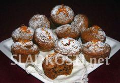 Mrkvové muffiny s ořechy Sweet Recipes, Cooker, Breakfast, Fine Dining, Morning Coffee