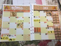 Plan With Me - September Monthly Plum Paper Planner; Kikki K Binder
