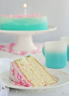 vanilla cake for mini cakes
