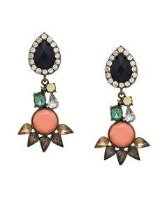Modern Elegance Earrings - Pink