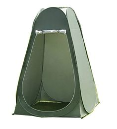 Faswin Pop Up Pod Toilet Tent Privacy Shelter Tent Camping Shower Potable Outdoor Changing Room Dark Green -- Find out more about the great product at the image link.