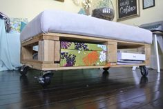 trash to treasure: our pallet coffee table