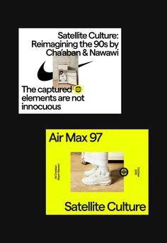 Nike Air Max Culture on Behance Air Max 97, Nike Air Max, Sports Graphic Design, Graphic Design Posters, Graphic Design Inspiration, Design Ideas, Layout Inspiration, Editorial Layout, Editorial Design