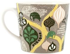 Littlephant Saga Forest Grey Mugs designed by Camilla Lundsten