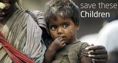 The poor children and hope