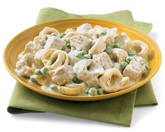 A rich, comforting one dish skillet meal! Our tender chicken, super sweet peas and tangy six cheese pasta are smothered in a rich creamy dill sauce.