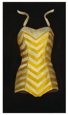 This vintage bathing suit is just for me!