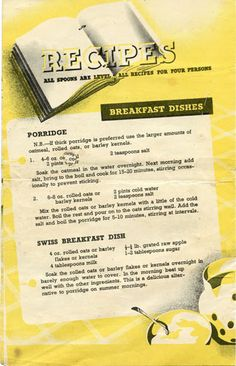 Farmersgirl Kitchen: Ministry of Food Leaflet No.22