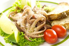 small squid is a delight to the palate