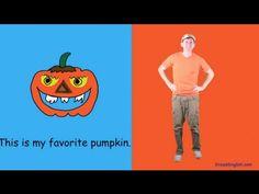Pumpkin Halloween Dance Song for Kids
