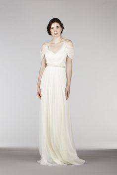 Ethereal Wedding Dress is truly romantic. It's perfect for the brides searching for the outdoor wedding dresses, destination wedding dresses, alternative wedding dresses, non traditional wedding dresses, and ethereal wedding dresses. Greek Wedding Dresses, Ethereal Wedding Dress, Outdoor Wedding Dress, Pretty Wedding Dresses, Alternative Wedding Dresses, Traditional Wedding Dresses, 2015 Wedding Dresses, Boho Wedding Dress, Wedding Gowns