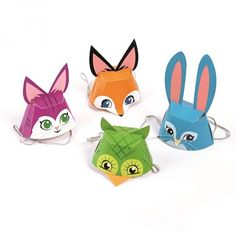8b86dd73856 AWESOME PARTY ANIMAL HATS Animal Hats