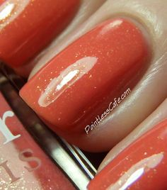 Nail of the Day: Dior Mandarin Orange #447 | Pointless Cafe