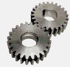 GEAR A gear or cogwheel is a rotating machine part having cut teeth, or cogs, which mesh with another toothed part to transmit torque. Geared devices can change the speed, torque, and direction of a power source. The teeth on the two meshing gears all have the same shape. A Gear, Machine Parts, Two By Two, Cogs, Teeth, Change, Gears, Chains, Tooth