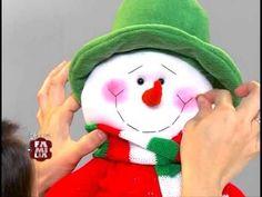 moldes para muñecos navideños de tela - Buscar con Google
