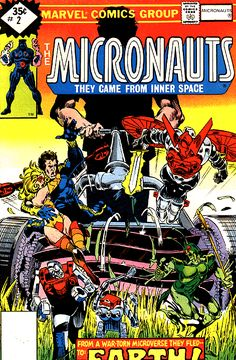 The Micronauts #2, More great Michael Golden. I always loved Bug.