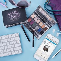 No matter day or night, we've got our eyes on #UrbanDecay's Nocturnal Shadow Box.  Get yours at beautyboutique.ca.  #beautyboutique Beauty Boutique, Shadow Box, Urban Decay, Fragrance, Eyes, Night, Makeup, Make Up, Beauty Makeup