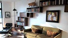 Bibliorteca/recorrido para gatos