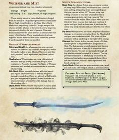 Homebrewing gear Most and Whisper - magic swords Dungeons And Dragons Classes, Dungeons And Dragons Characters, Dungeons And Dragons Homebrew, Dnd Characters, Fantasy Weapons, Fantasy Rpg, Home Brewing, Beer Brewing, Dnd Dragons