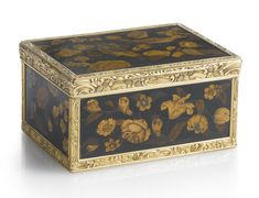 A Louis Philippe gold-mounted marquetry snuff box, Alexandre Leferre of Paris, circa 1840