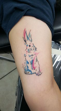 A little bunny. Client brought in the design.